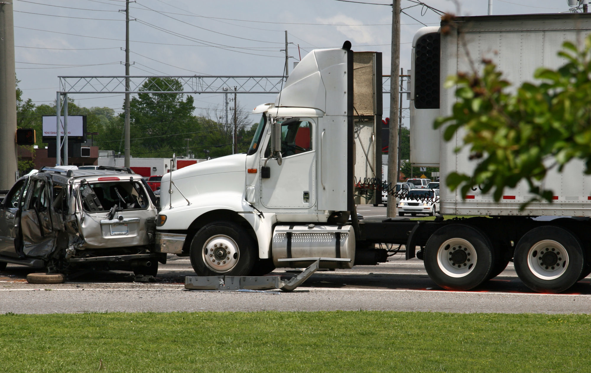 a truck accident in Odessa, TX