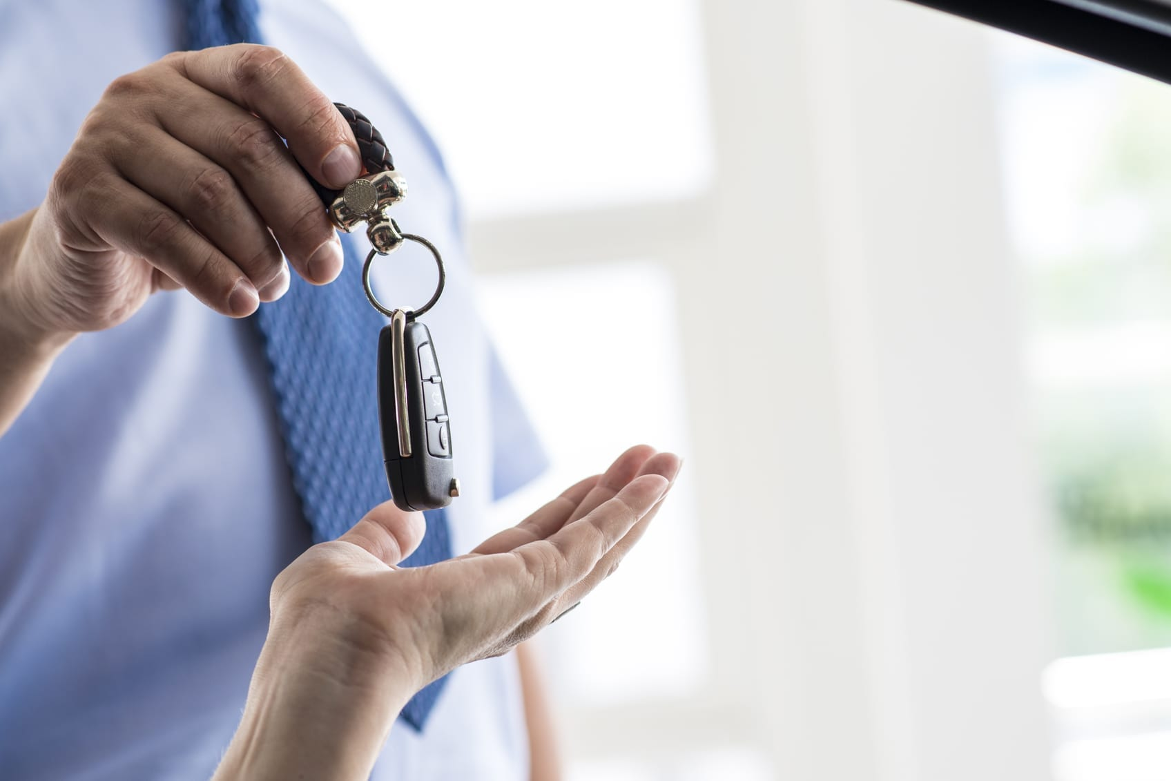 Car Accident Lease Stock Photo