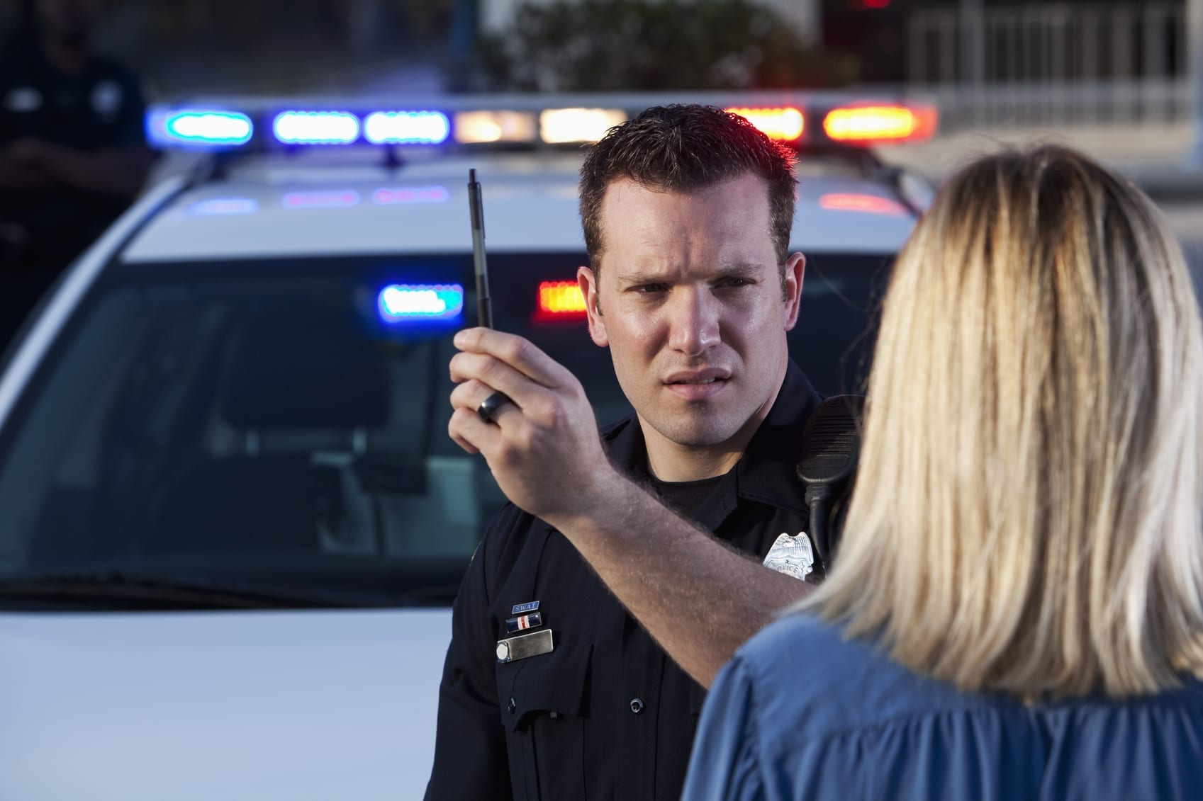 DUI Test Stock Photo