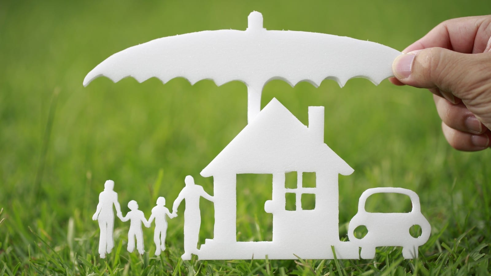 Home Owners Insurance Stock Photo