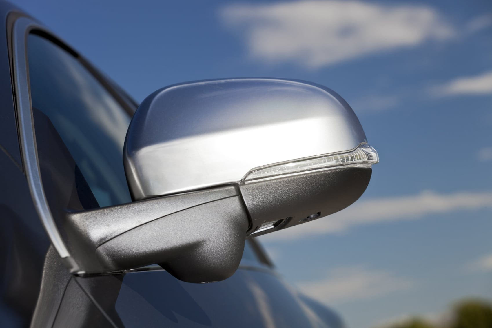 Blind Spot Stock Photo