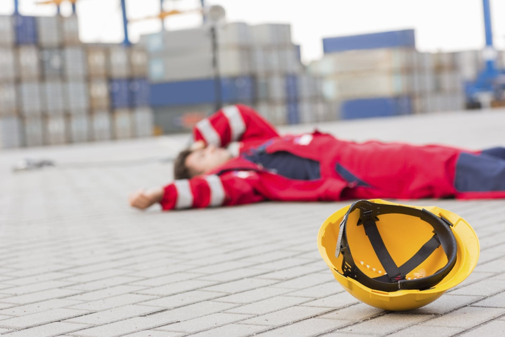Injured Construction Worker Stock Photo - What to Know if You Are Hurt On The Job