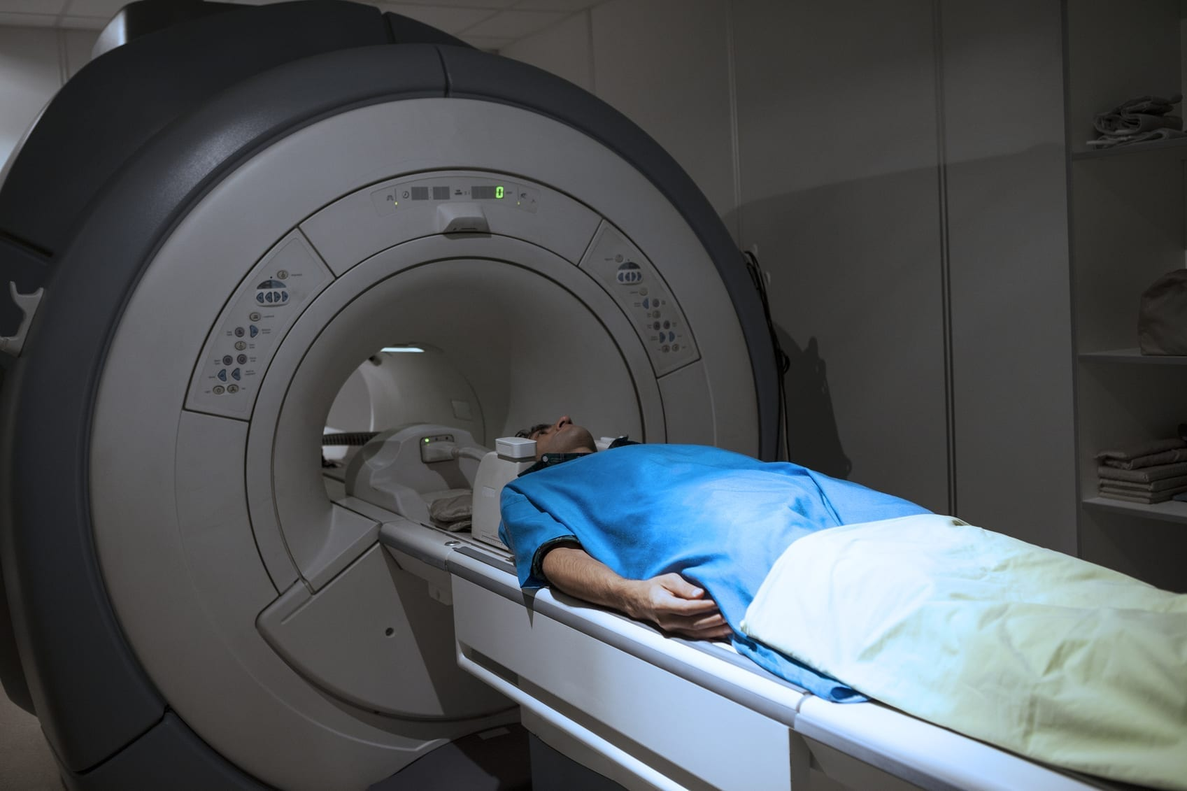 Workers' Compensation - MRI Stock Photo